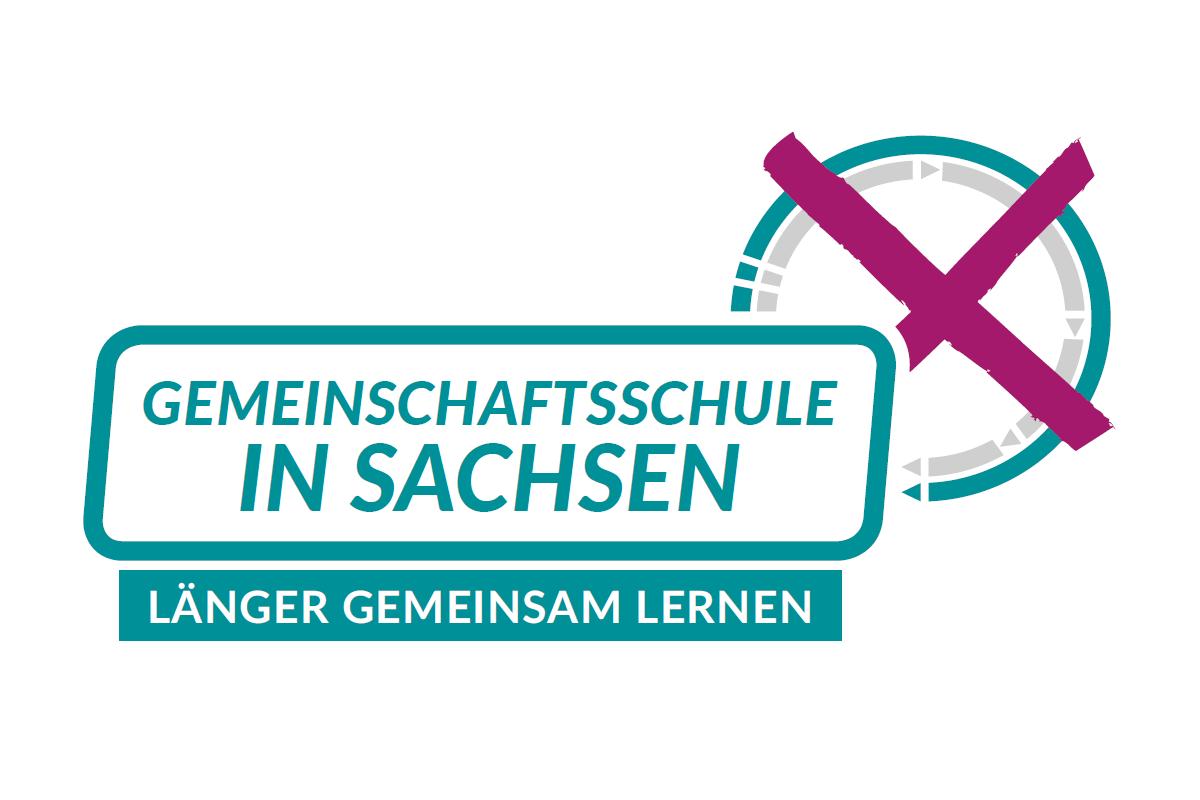 Logo Volksantrag Gemeinschaftsschule in Sachsen
